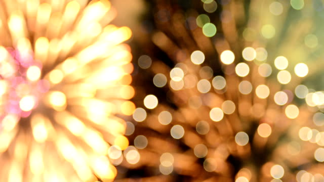 firework bokeh full hd video - july stock videos & royalty-free footage