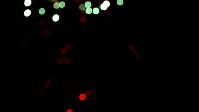Feuerwerk Bokeh Full HD-Videos