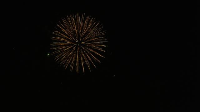 firework display in tokyo - firework display点の映像素材/bロール