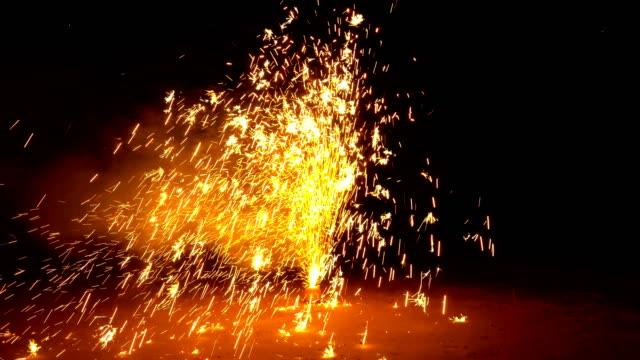 4k firework display - july stock videos & royalty-free footage