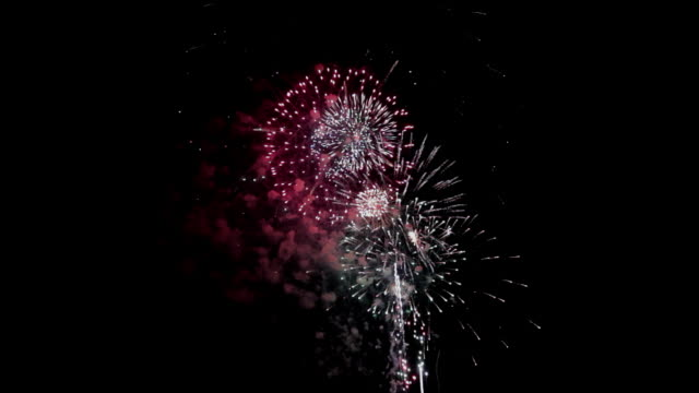 firework festival display - audio available stock videos & royalty-free footage