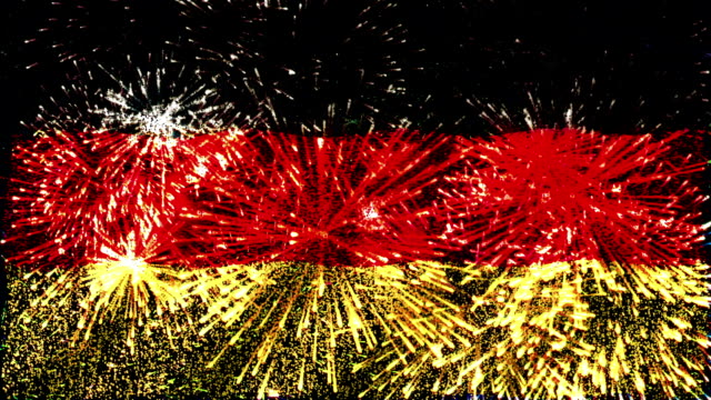 firework flag of germany