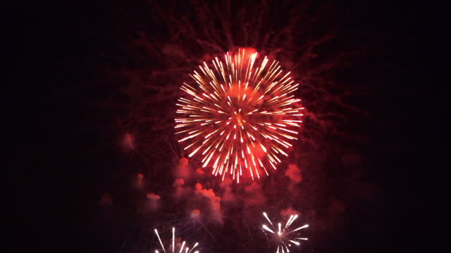 firework fullhd - ceremony stock videos & royalty-free footage
