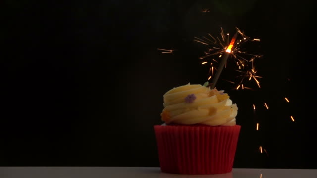 firework on cupcake slow motion - spanking stock videos and b-roll footage