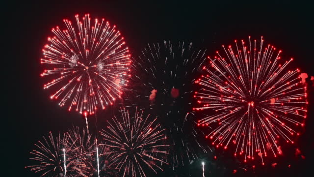 firework - fourth of july stock videos & royalty-free footage