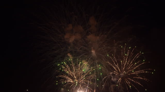 firework - pyrotechnic effects stock videos & royalty-free footage