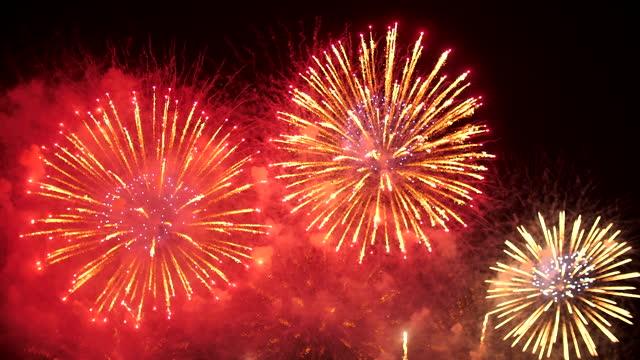 firework - firework explosive material stock videos & royalty-free footage