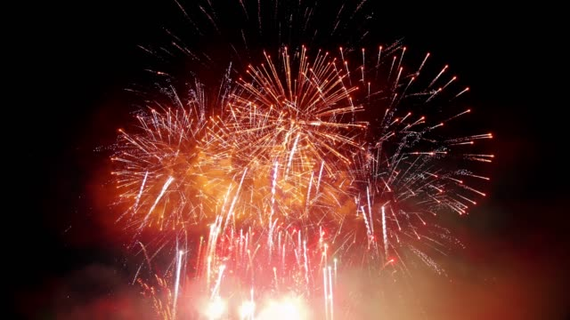 firework - firework display stock videos & royalty-free footage