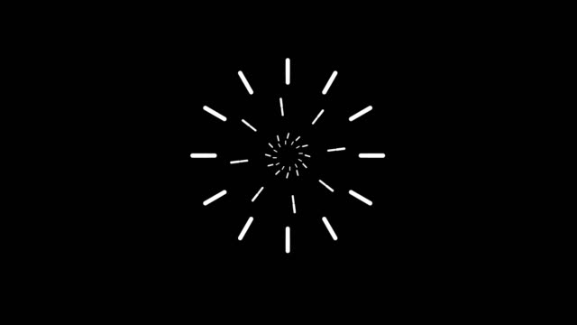 fireworks animation - with alpha channel - motion graphics stock videos & royalty-free footage