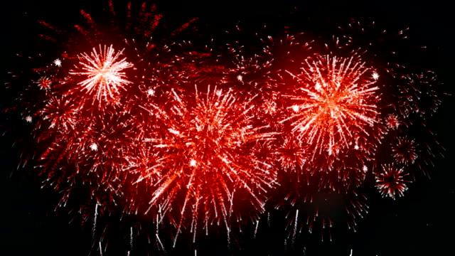 Fireworks Display rode kleur