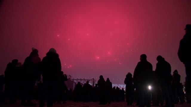 fireworks display - firework display stock videos & royalty-free footage