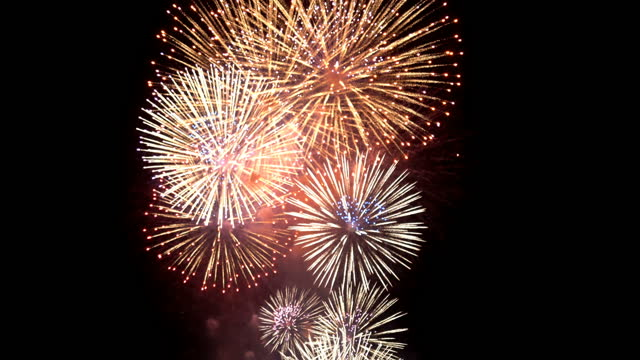fireworks display - fourth occurrence stock videos & royalty-free footage