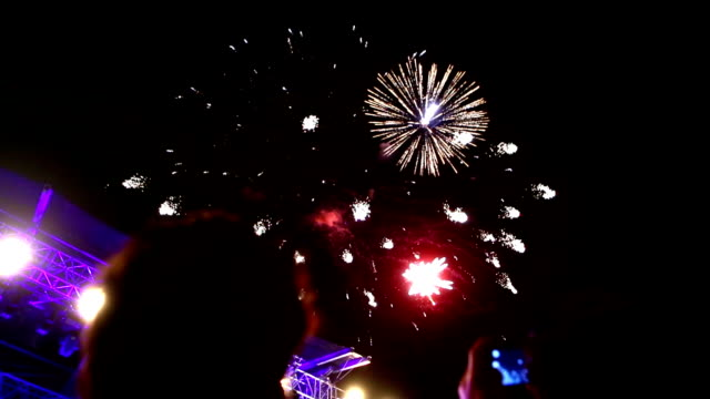 Fireworks display.