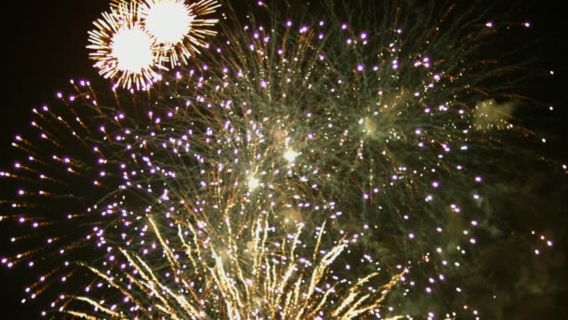 fireworks display - firework display stock videos & royalty-free footage