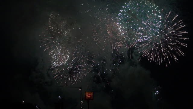 fireworks in tokyo - number 5 stock videos & royalty-free footage