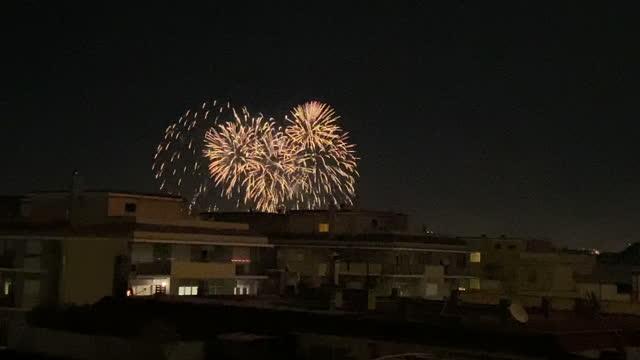 ITA: New Year's Celebrations In Rome 2021