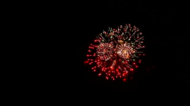 fireworks light up the sky - july stock videos & royalty-free footage
