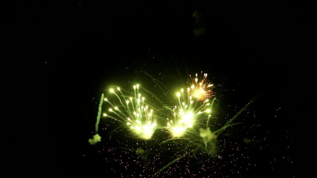 fireworks or firecracker - saturated color stock videos and b-roll footage