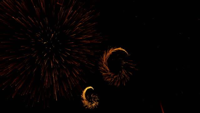 Farbiges Feuerwerk