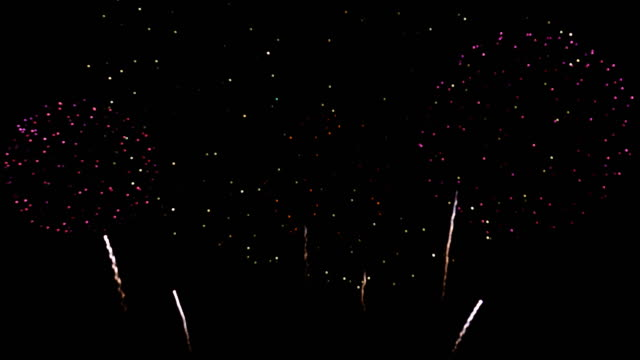 4k: fireworks show - 2019 stock videos and b-roll footage