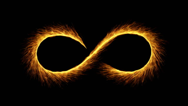 fireworks slow motion 4k - particles infinity symbol - symbol stock videos & royalty-free footage