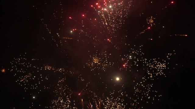 fireworks - july stock videos & royalty-free footage