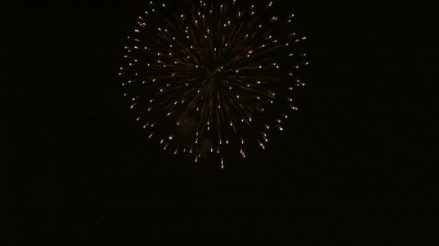 fireworks(hd25p) - anniversary stock videos & royalty-free footage