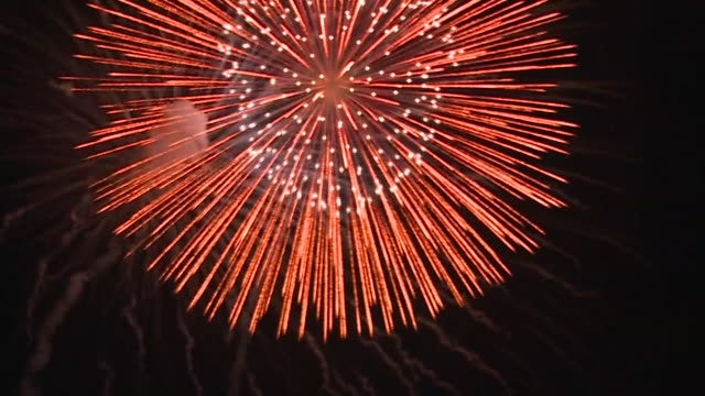fireworks - firework display stock videos & royalty-free footage