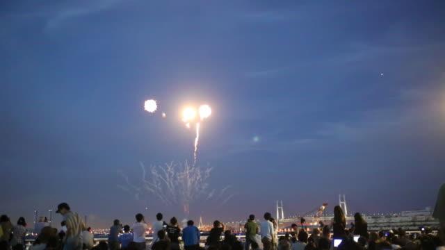 stockvideo's en b-roll-footage met fireworks - vuurwerkshow