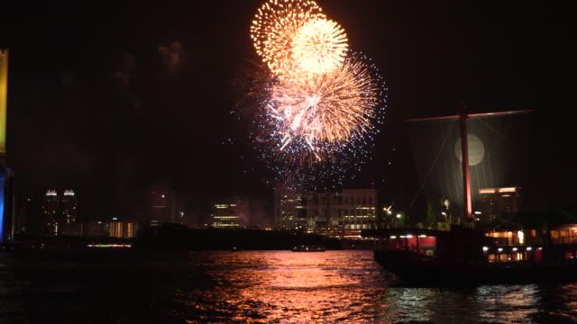 vídeos y material grabado en eventos de stock de fireworks - japón