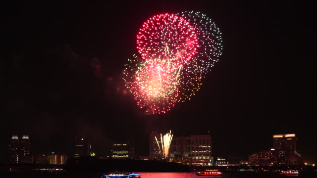 fireworks - firework display stock videos & royalty-free footage