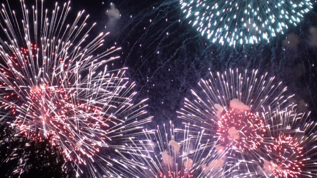fireworks - single object stock videos & royalty-free footage