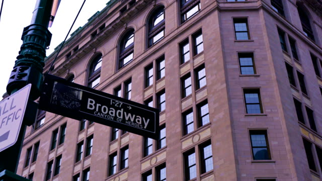first broadway sing - brick stock videos & royalty-free footage