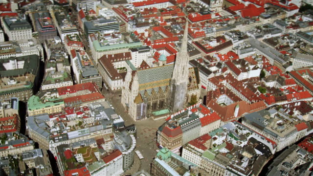 first district vienna (austria) - ウィーン点の映像素材/bロール