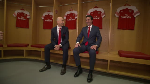 First footage of Unai Emery as the Head Coach of Arsenal FC