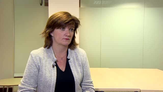 first grammar school in 50 years approved nicky morgan interview england london int nicky morgan mp interview sot on expansion of grammar school in... - kent england stock videos & royalty-free footage