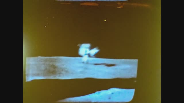 first landing on the moon on television - sphere stock videos & royalty-free footage