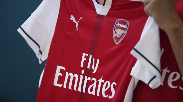 First look at Lucas Perez at Arsenal FC