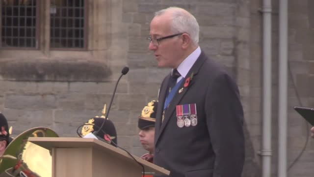 first minister mark drakeford attends the official opening of the wales national field of remembrance at cardiff castle. members of the public leave... - religious symbol stock videos & royalty-free footage