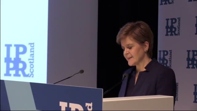 stockvideo's en b-roll-footage met first minister nicola sturgeon highlights the risk of environmental and social standards being removed as part of boris johnson's brexit legislation... - gelijkheid