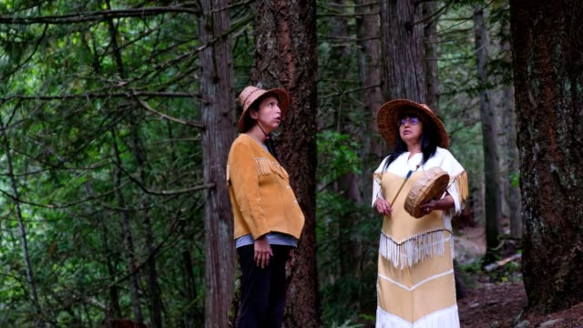 first nations women in traditional clothing - inuit stock videos & royalty-free footage