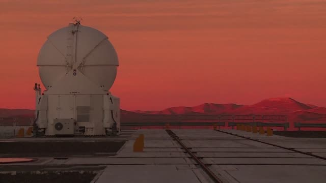 first opened in 1998 the very large telescope is one of the main optical telescopes installed in chile's atacama desert - cerro paranal stock videos and b-roll footage