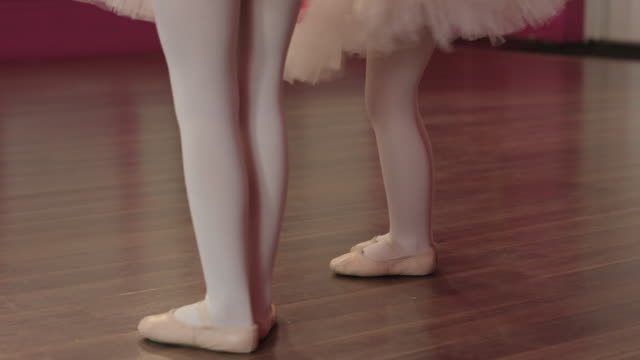 first steps in ballet - leg warmers stock videos & royalty-free footage