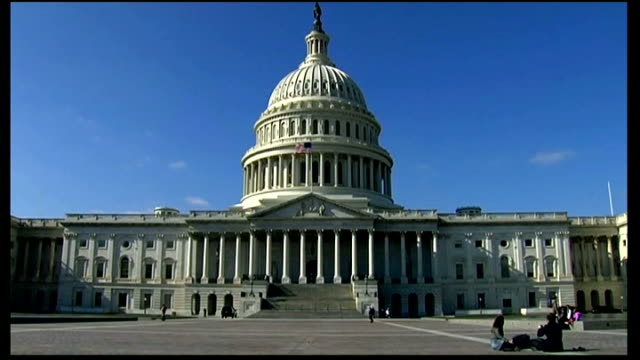 barack obama says deal is 'within sight' t05111209 / general view of us capitol building - capitol building stock videos & royalty-free footage