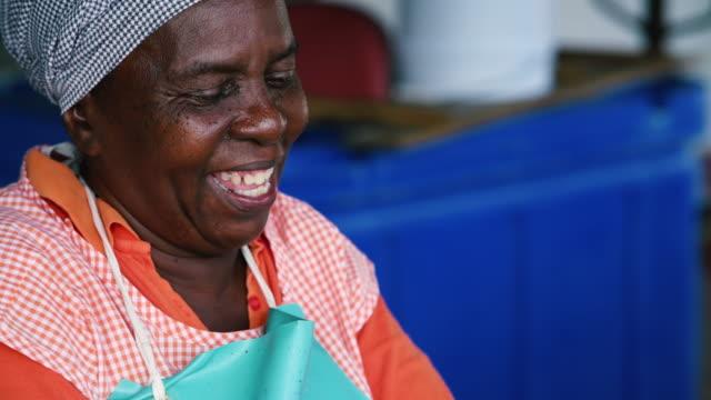 fish market - karibik stock-videos und b-roll-filmmaterial