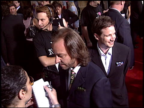 fisher stevens at the 'uptown girls' premiere at the cinerama dome at arclight cinemas in hollywood california on august 4 2003 - arclight cinemas hollywood video stock e b–roll