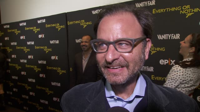 fisher stevens on his favorite bond girl on which presidential candidate would make a better bond villain at epix and vanity fair present the... - bond girl fictional character stock videos & royalty-free footage