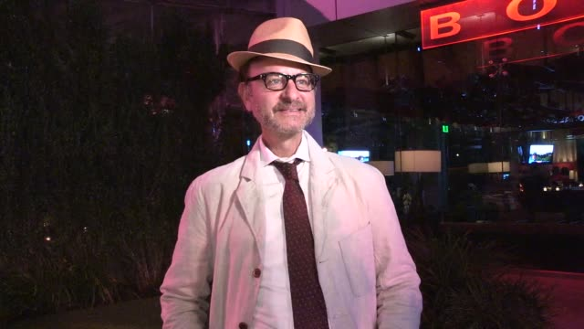 Fisher Stevens on PETA reward for men kicking a squirrel into the Grand Canyon at Boa West Hollywood in Celebrity Sightings in Los Angeles