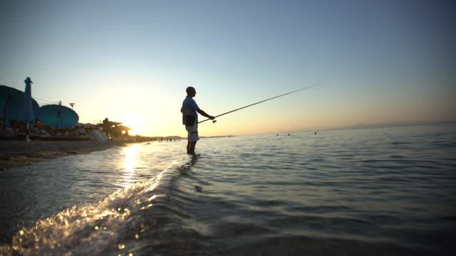 Fischer und das Meer