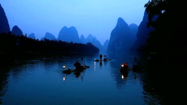 Fisherman in Li river